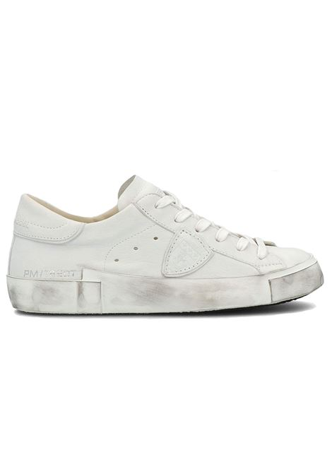 Philippe Model PRSX white sneakers PHILIPPE MODEL | Shoes | PRLU1012