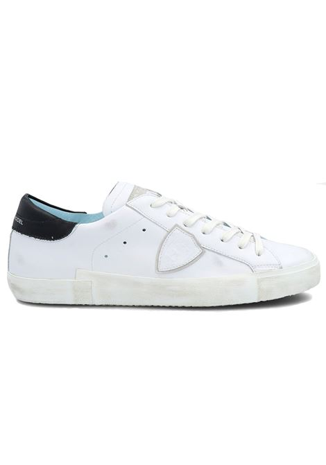 Sneakers Philippe Model PRSX blanc noir PHILIPPE MODEL | Shoes | PRLUV022