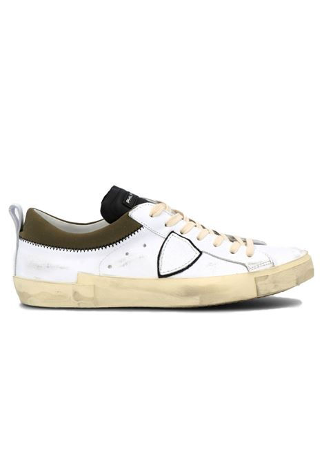 Sneakers Philippe Model Prlu bianco militare PHILIPPE MODEL | Scarpe | PRLUVEC3