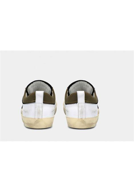 Sneakers Philippe Model Veau Collier  Blanc Militaire PHILIPPE MODEL | Shoes | PRLUVEC3
