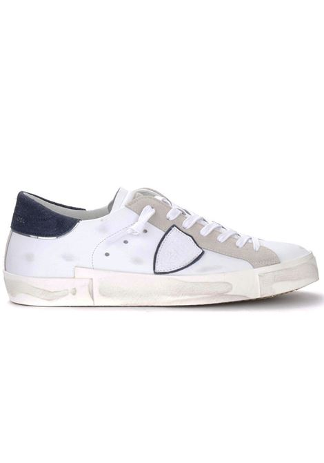 Sneakers Philippe Model PRSX bianco blu PHILIPPE MODEL | Scarpe | PRLUVX22