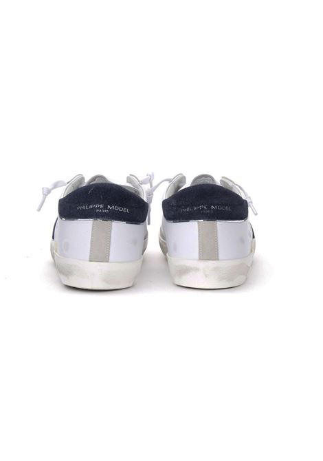Sneakers Philippe Model mixage white blue PHILIPPE MODEL | Shoes | PRLUVX22