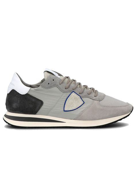 Sneakers Philippe Model Tropez grigio PHILIPPE MODEL | Scarpe | TZLUW058