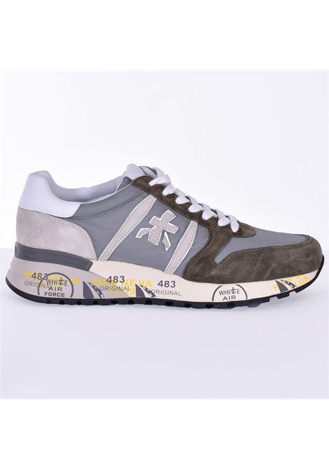 Premiata Lander 5195 green sneakers shoes PREMIATA | Shoes | LANDER5195