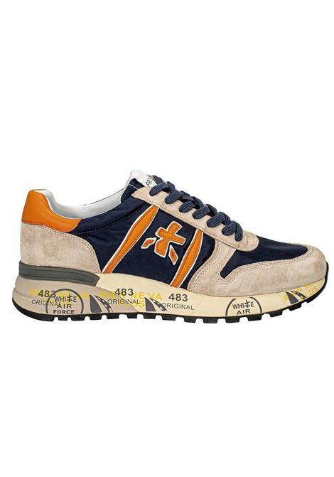 Sneakers shoes Premiata Lander 5197 blue PREMIATA | Shoes | LANDER5197