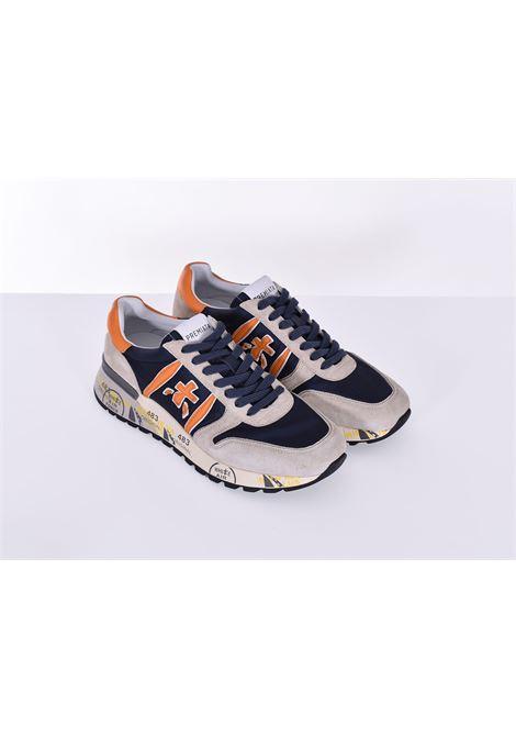 Sneakers shoes Premiata Lander 5197 blue PREMIATA   LANDER5197