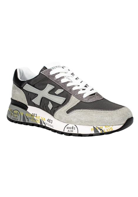 Premiata Mick 5188 gray sneakers PREMIATA | Shoes | MICK5188