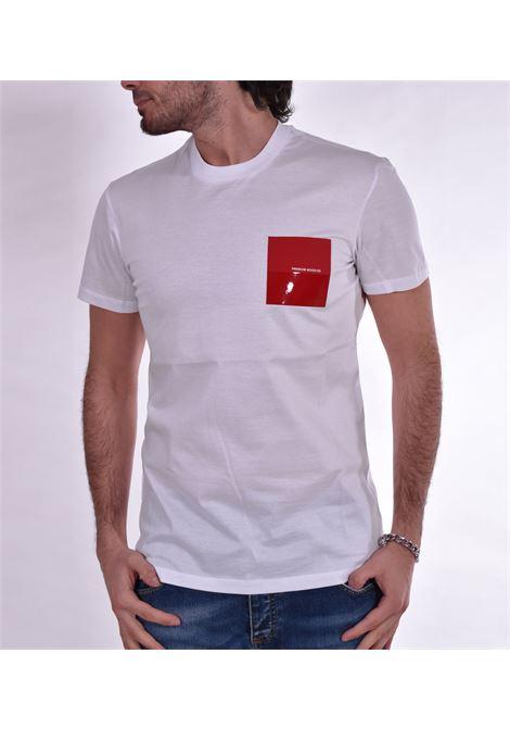 T shirt PMDS taschino rosso Premium Mood Denim Superior | T-shirt | 608TS01