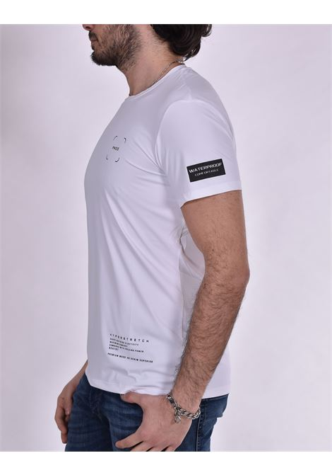 T shirt PMDS waterproof odak bianco Premium Mood Denim Superior | 624TS01