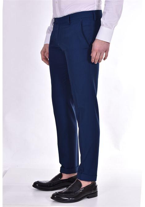 Roberto Pepe royal blue trousers ROBERTO PEPE | Trousers | DP111