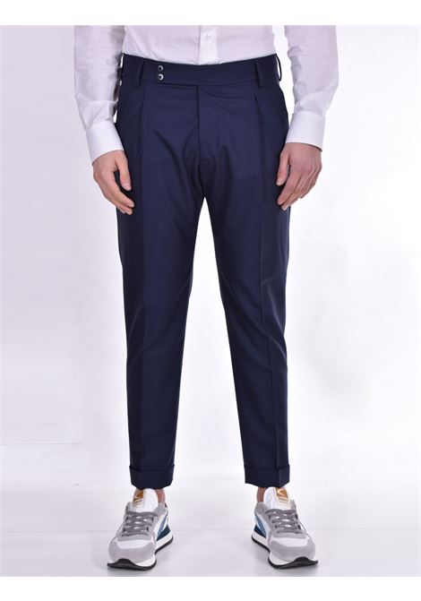 Roberto Pepe trousers with blue strap ROBERTO PEPE | Trousers | DP14