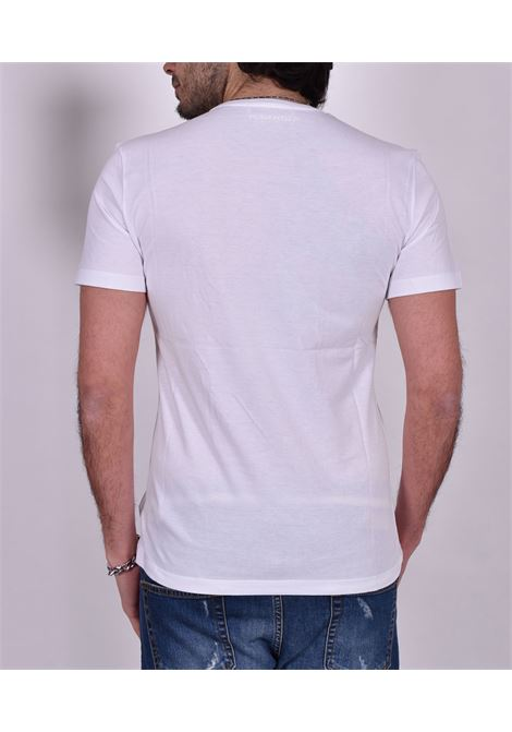 Roberto Pepe white logo t-shirt ROBERTO PEPE | T-shirts | DS1801