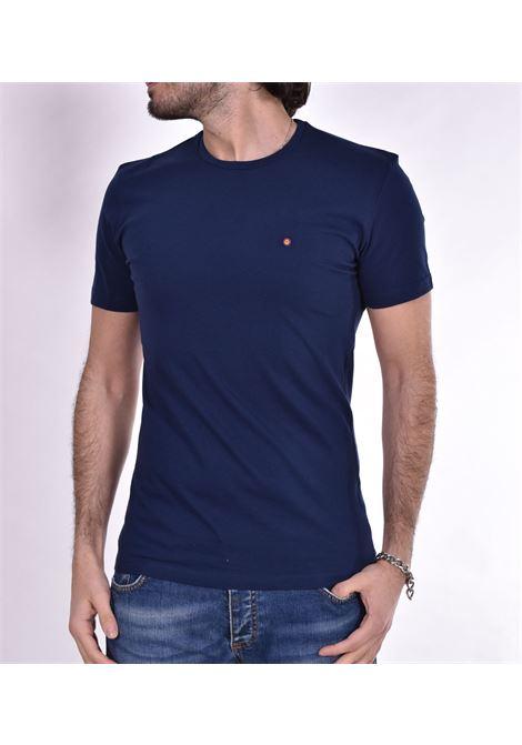 Roberto Pepe blue logo t-shirt ROBERTO PEPE | T-shirts | DS1802