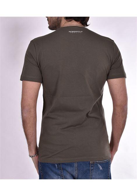 T-shirt Roberto Pepe logo verde ROBERTO PEPE   T-shirt   DS1803