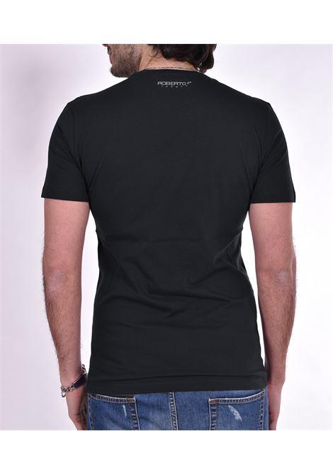 Roberto Pepe black logo t-shirt ROBERTO PEPE | T-shirts | DS188