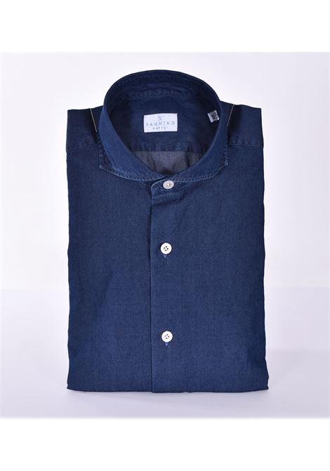 Camicia Sannino jeans blu scuro SANNINO | Camicie | A50501