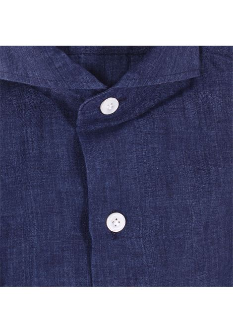 Sannino blue linen shirt SANNINO | Shirts | A85401