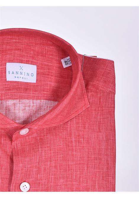Camicia Sannino lino rosso SANNINO | CN396207