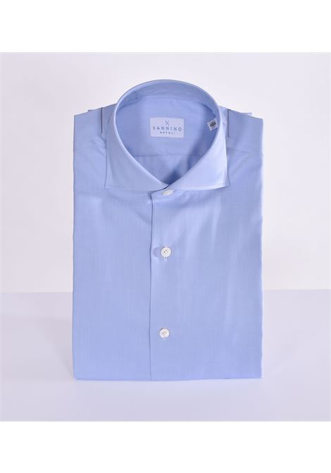 Sannino slim light blue shirt SANNINO | Shirts | M12601