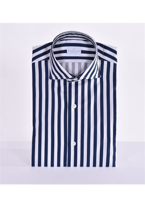 Sannino striped white blue shirt SANNINO | Shirts | M21501