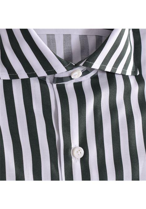 Sannino striped white green shirt SANNINO | Shirts | M21504
