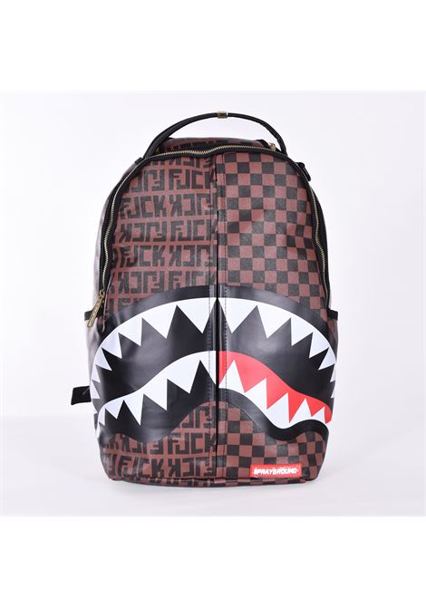 Sprayground split the check backpack SPRAYGROUND | Bags | B324901