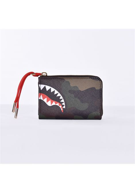 Sprayground checks camo wallet SPRAYGROUND | Wallets | W358001