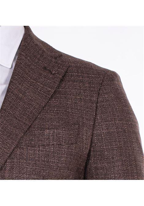 Giacca Tagliatore lana seta marrone 1smc22k TAGLIATORE | Giacche | 03UEG110M3076