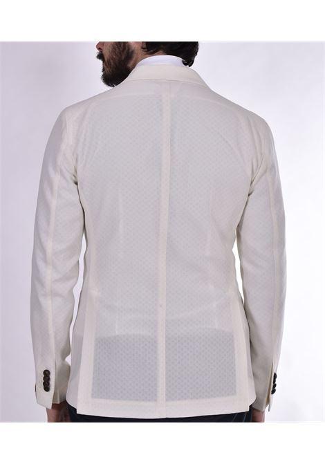 Tagliatore cream wool stretch jacket G-Dakar22k TAGLIATORE   Blazers   12UEG344EX931