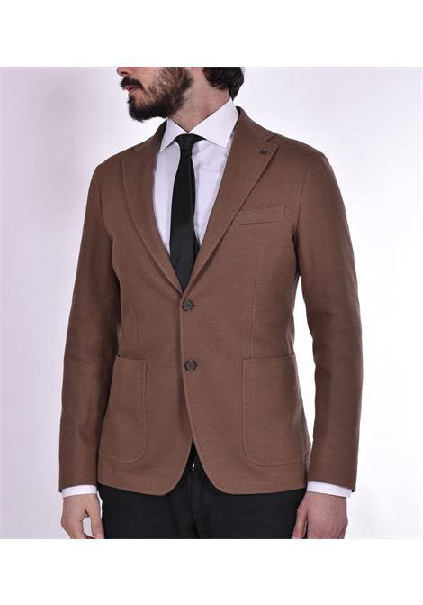 Giacca Tagliatore jersey marrone 1smj22k TAGLIATORE | Giacche | 57UEJ157M1462