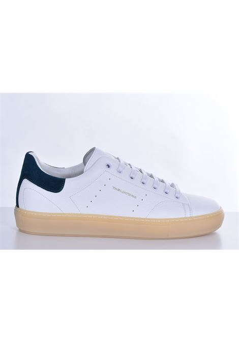 Sneakers Tagliatore bull bianco petrolio TAGLIATORE | Scarpe | HNE2101