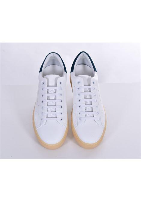 Petrol white Bull Tagliatore sneakers TAGLIATORE | Shoes | HNE2101
