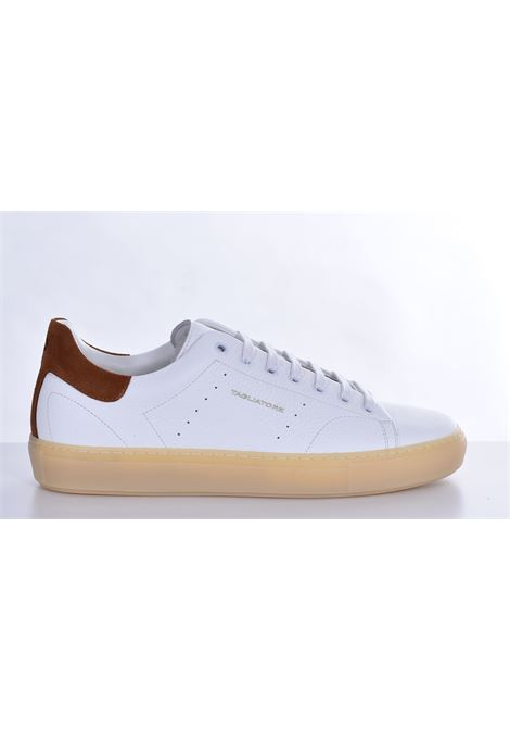 Bull leather sneakers Tagliatore white TAGLIATORE | Shoes | HNE2102