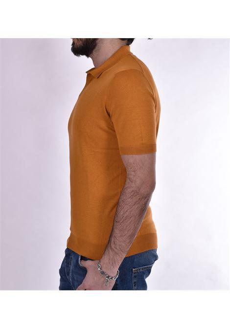 Polo Tagliatore seta aragosta TAGLIATORE | PSCSE529335