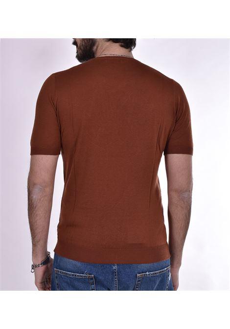 Tagliatore silk t-shirt sweater TAGLIATORE | T-shirts | TGCSE512159