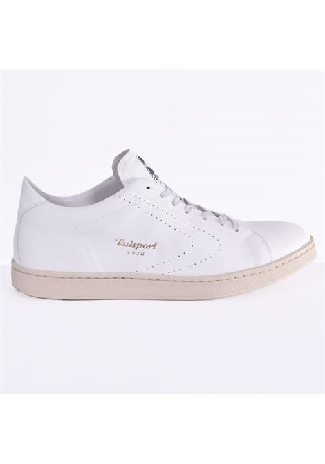 Valsport nappa tournament logo perforated white VALSPORT | Shoes | VTNBL001M01