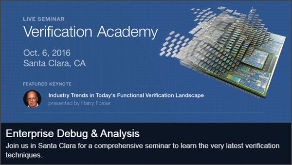Live Seminar - Enterprise Debug and Analysis | Thursday, October 6th | Santa Clara, CA