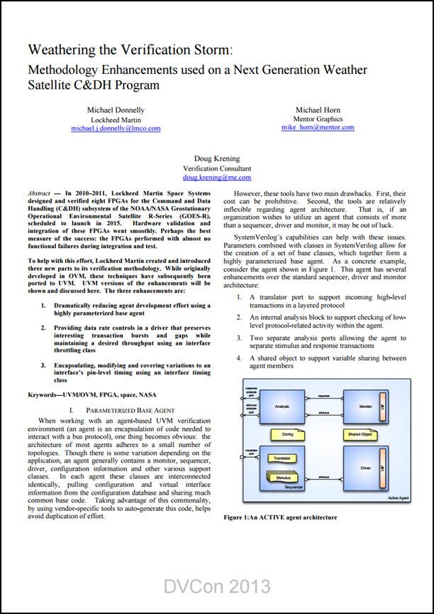 Weathering the Verification Storm - Methodology Enhancements used on a Next Generation Weather Satellite C&DH Program