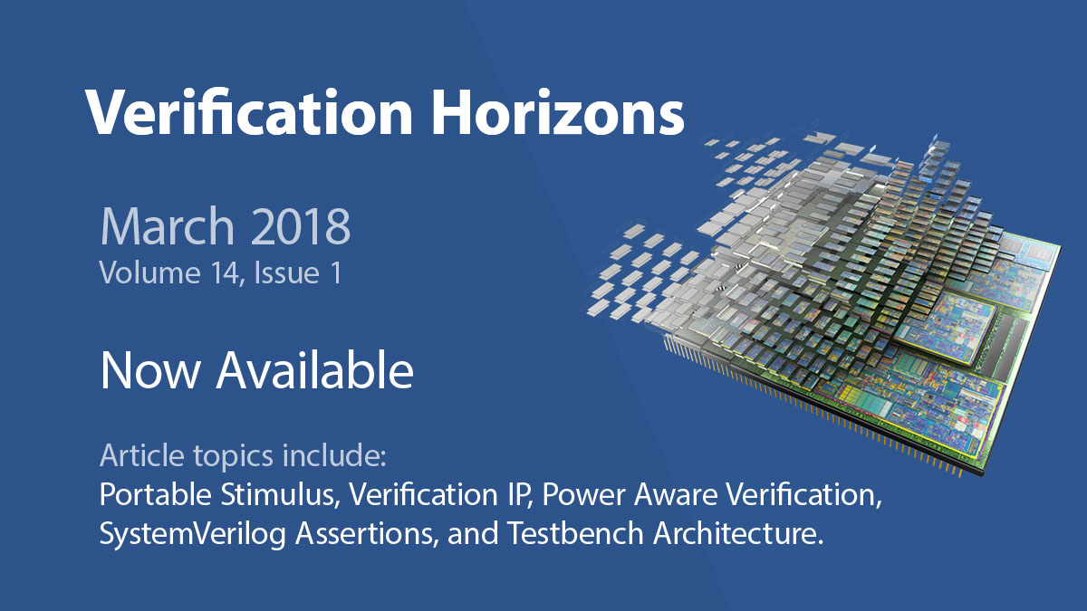 Now Available to View or Download - March Issue of Verification Horizons