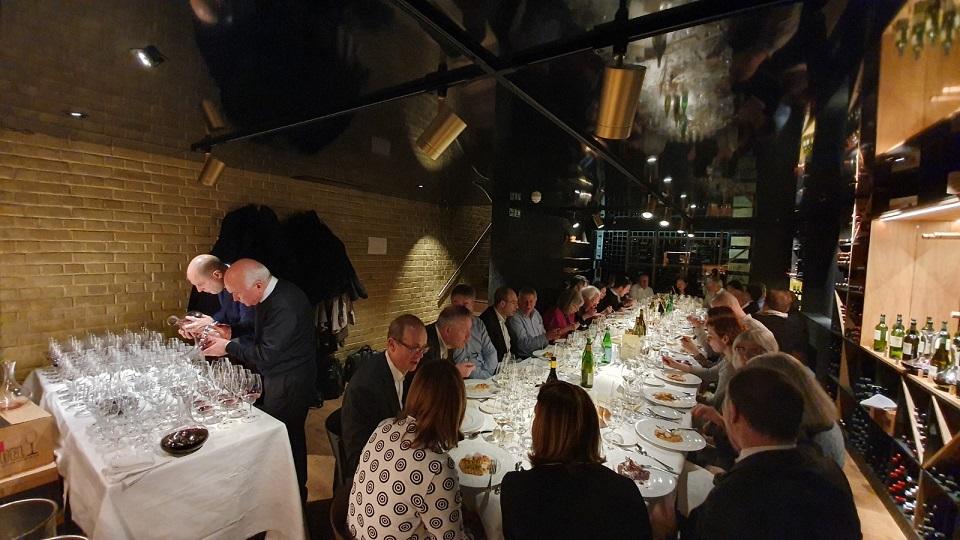 Vinous Table Miani Dinner At Enoteca Turi London Uk Jul
