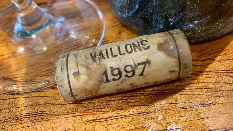Cellar Favorite: 1997 Domaine Servin Chablis Vaillons 1er