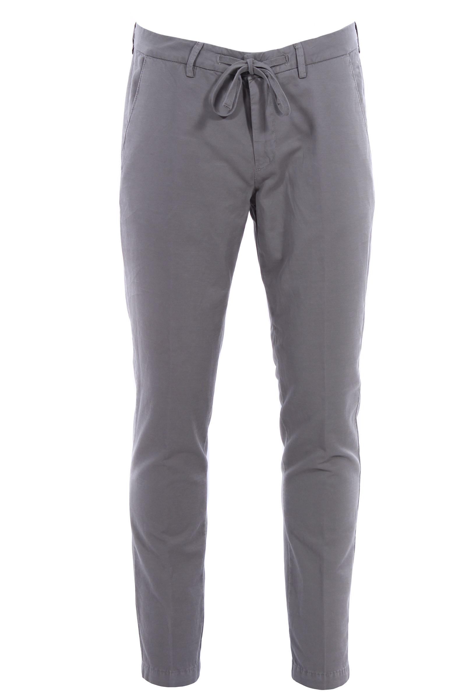 Cheaper negozio ufficiale vari colori Pantaloni jogging in lino e cotone stretch - BRIGLIA - Virno