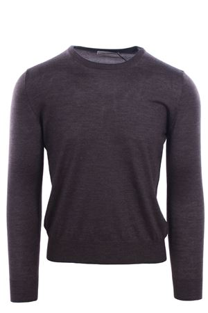 Cashemere and silk crew neck