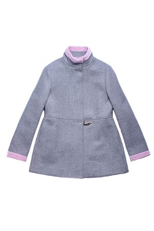 Herringbone coat FAY | 5032278 | NBQ50358050HAPB402