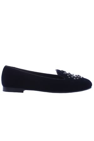 Suede ballerinas