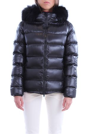 Down jacket with fur hood PEOPLE OF SHIBUYA | 5032285 | HOSOKAWANP007999