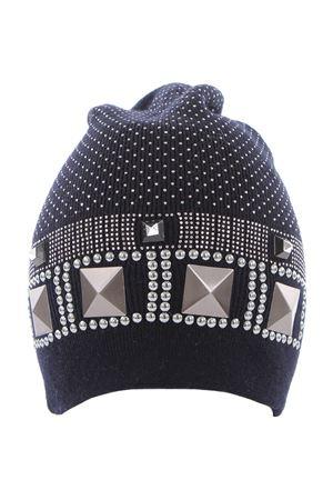 Cappello in lana merinos REGINA | 5032304 | I70769BLU