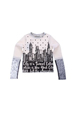 Cotton long sleeved t-shirt TWIN SET | 8 | GA721N245