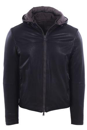 Washed reversible leather jacket AD UNUM | 5032285 | 9R01068LT39