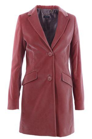Cappotto in velluto ALBAROSA | 5032278 | CHIARALUTON2041